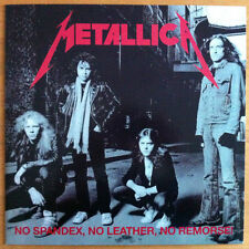 Metallica - No Spandex, No Leather, No Remorse (New & Unplayed Colored Vinyl)