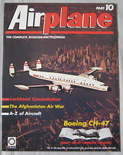 Airplane Issue 10 Boeing CH-47 Chinook cutaway & poster, Lockheed Constellation