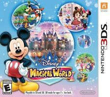 Disney Magical World (Nintendo 3DS, 2014, English & French Options)