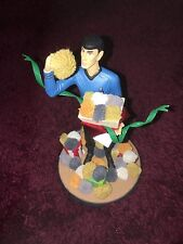 Star trek  kurt's alder  Spock  and tribbles   collectable   figure  ornament
