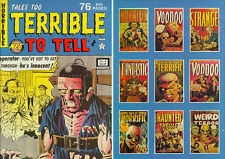 Tales Too Terrible To Tell #4 Classic Pre-Code Horror! Ditko! Electrocution Cvr!