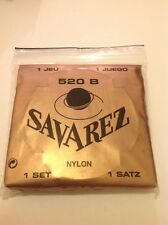 France SAVAREZ Guitar Strings Acoustic Classical 520B / Low Tension