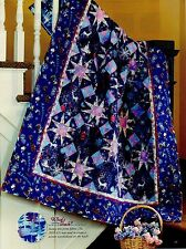 "Frosted Stars  Finished  Size -50-1/2""x65-1/2""  (REDUCED)    Quilt Pattern Only"