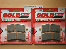 DUCATI 1199 PANIGALE   SINTERED HH FRONT BRAKE PADS (2xSets) GOLDFREN 2012-2013