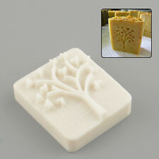 Heart Tree Design Handmade Resin Soap Stamp Stamping Mold Mould Craft
