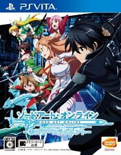Used PS Vita Sword Art Online Hollow Fragment Japan Import (Free Shipping)