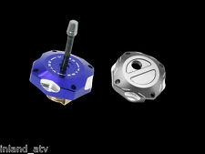 Zeta : Gas Cap Trail : Titanium : 2001-14 KLX250 & D-Tracker 250