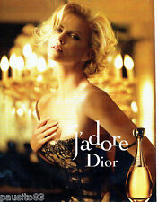 PUBLICITE ADVERTISING  056  2011  Dior parfum J'Adore  Charlize Theron