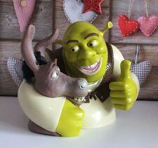 Dreamworks Disney Shrek And Donkey Talking Cookie / Biscuit Jar ⭐