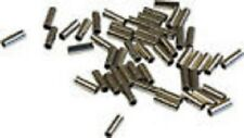 Pack of 50 NICKEL PLATED SLIM CRIMPS UP TO 30lb --PIKE / SEA FISHING
