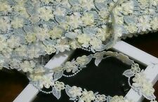 1 inch wide Embroidered Lace Trim price  for 1 yard