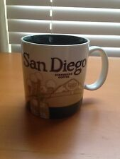 Rare 2009 Starbucks City Mug Cup Collection San Diego Gaslamp Collectors Series