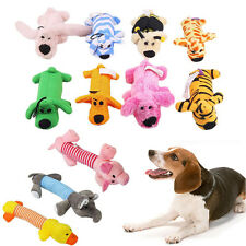 Pet Puppy Chew Squeaker Squeaky Plush Sound Pig Elephant Duck Ball For Dog Toys~