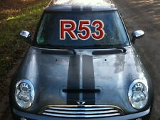 VIPER-strisce Adesivo Rally STRIPES PER BMW MINI COOPER r53 * S * Unione Works