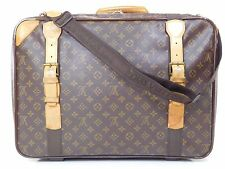 Louis Vuitton Satellite 53 W/ Strap Suitcase Bag Duffle Luggage Travel Trunk 157