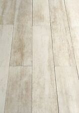 5x24 RECTIFIED SAND WHITE PLANK PORCELAIN TILE FLOORS (SOLD PER PIECE)