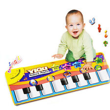 New Touch Play Keyboard Musical Music Singing Gym Carpet Mat Kids Gift