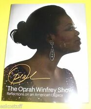 The Oprah Winfrey Show Great Photos 2011 An American Legacy NEW Book See!
