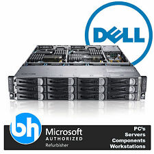Dell PowerEdge C6100 VMware Cloud Node Rack Server 8x Xeon Quad Core 96GB RAM 2U