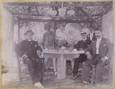 Pays à identifier Voyage Lot de 3 Photos Vintage Silver print ca 1920