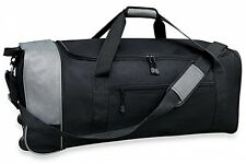 Traveler's Club 32-Inch Compactable Rolling Duffle Travel Bag Wheeled Duffel NEW