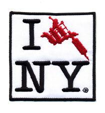 I Tattoo NY New York patch badge heart love artist NYC City machine
