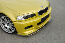 Rieger Spoilerlippe BMW E46 M3 /ABS-Carbon Look / NEU / RIEGER-Tuning