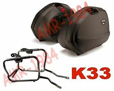 KIT SUITCASES SIDE KAPPA 33 + FRAME PLX166 HONDA VFR800 from 2002 al 2011