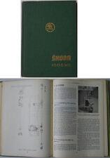 Skoda 1000MB original Workshop Manual 1964 including2 Supplements