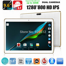 9.6 inch Octa Core 3G Phone Call Tablet PC Android 5.1 4GB RAM 32G ROM  Screen