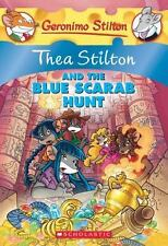 Thea Stilton and the Blue Scarab Hunt-ExLibrary