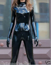 Latex Rubber Ca​tsuit Black Full-body Suit Fashion Bodysuit available XS- XXL