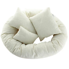 4pcs Cute Newborn Photography Basket Filler Wheat Donut Posing Props Baby Pillow