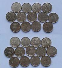 LOTE 5 PESETAS SERIE COMPLETA 13 MONEDAS DIFERENTES 1989-2011 MAGNIFICO ESTADO