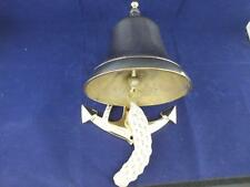 Classic Vintage Reproduction Brass Anchor Reception Bell.