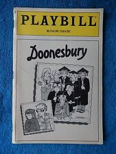 Doonesbury - Biltmore Theatre Playbill - January 1984 Vol. 2 No. 4 - Kate Burton