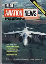 AVIATION NEWS MODEL MAGAZINE V16 N05 HIGHLAND EXPRESS INAUGURAL NO.635 SQDN RAF