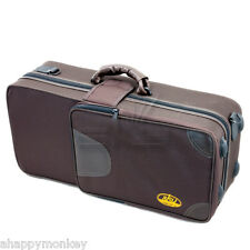 **GREAT GIFT**High Quality Standard Alto SAX Lightweight Brown Case CLEARANCE