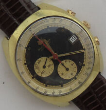 Bucherer Chrono Automatic mens wristwatch Date gold filled 40,5 mm. in diameter