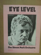 song sheet EYE LEVEL simon park orchestra, Berry Foster