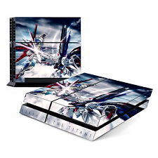 Skin Decal Cover Sticker for Sony PlayStation 4 PS4 - Gundam