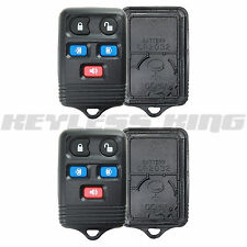 2 New Replacement Keyless Remote Key Fob Clicker Shell Pad Case for CWTWB1U511