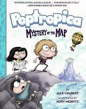Poptropica: Mystery of the Map by Jack Chabert (2016, Hardcover)