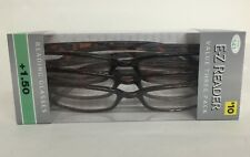 LOT OF 9 FOSTER GRANT HADLEY TORTOISE READING GLASSES +1.50 NEW