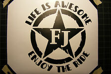 Toyota FJ Cruiser 4x4 Off Road Car Decal Sticker