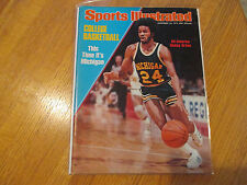 1976 Sports Illustrated  Rickey Green  MICHIGAN WOLVERINES No.1!  NO LABEL