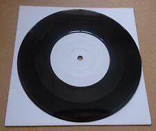 "WOLFMAN ft PETER DOHERTY For Lovers white label vinyl 7"" test pressing UNPLAYED"