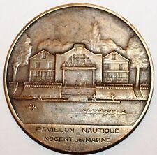 Medaille Pavillon  Nogent sur Marne Club Nautique de la Bourse de Paris (37)