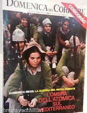 LA DOMENICA DEL CORRIERE 7 aprile 1970 Guerra nel Medio Oriente Nicola Oicella