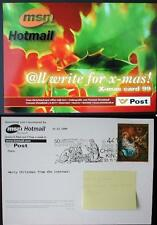 Postamt Christkindl 99, Internet Card 2, MSN Hotmail